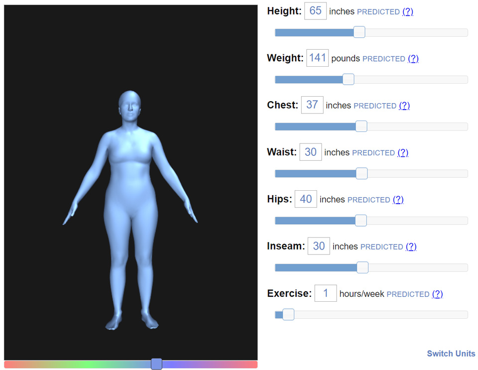 body visualizer game